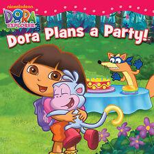 Dora Plans a Party (Dora the Explorer), Nickelodeon, New Book