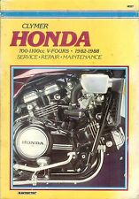 Clymer HONDA 700-1100cc V-FOURS - 1982 -1988 Service - Repairs - Maintenance