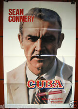 Cuba {Sean Connery} Teaser 1st Sheet Original 41x27in Movie Poster 70s