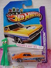 Case B/C 2013 Hot Wheels '69 MERCURY COUGAR ELIMINATOR #243 US☆Orange☆Goodyear