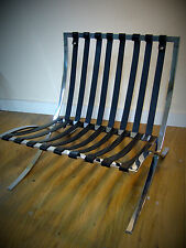 Barcelona Chair Replacement Strap (Singular base strap) - Black, White or Brown