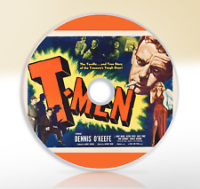 T-Men (1947) DVD Classic Crime Drama Movie Film Noir Dennis O'Keefe Wallace Ford