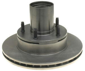 For 1976-1986 Ford Bronco Brake Rotor and Hub Assembly Front Raybestos 55143NZ
