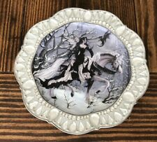 Nene Thomas Crystal Enchantment Plate-Ice Princess. No A3160 Bradford Exchange