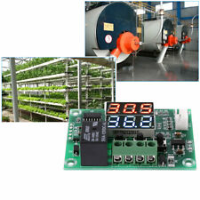 XH-W1219 Dual LED Display Thermostat Temperature Controller Module Sensor DC 12V
