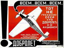 Alexander Guerra Rodchenko avión ruso nuevo Fine Art Print cartel CC3010