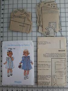 The Children's Corner Patterns MAGGIE #1 Smocked Dress size 6mo-2 Pattern