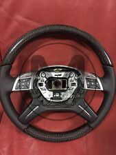 Carbon  Steering Wheel for Mercedes-Benz G-Class W463 G63 G65 Or W166 ML63 X166