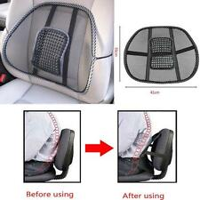 New Mesh Lumbar Back Brace Support Office Home Car Seat Chair Cushion Comfort BW