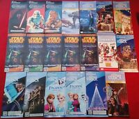 Disney Hollywood Studios 20 Map Lot Star Wars Weekends, Frozen, Osbourne Lights