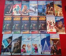 Disney Hollywood Studios 20 Map Lot Star Wars Weekends, Frozen, Osbourne Lights