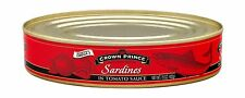 Crown Prince Sardines in Tomato Sauce 15-Ounce Cans (Pack of 12) Free Shipping