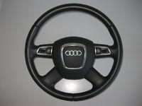 Audi A5 8T Q5 8R A4 8K B8 Mfl Multifonctions Cuir Volant Cuir Y52