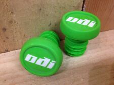 ODI THUG PLUG Bar End Plugs (PAIR) Scooter BMX (Green) Grips End Caps