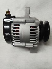 "Ultra Mini 12 volt 55 amp 1 wire Denso style alternator Racing 4"" Dia 6"" Long"