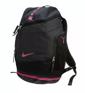 Nike Hoops Elite Max Air Backpack Kay Yow Breast Cancer Awareness BA4880 006 NEW