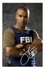SHEMAR MOORE - CRIMINAL MINDS AUTOGRAPHED SIGNED A4 PP POSTER PHOTO