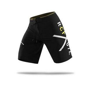Reebok CrossFit Men's Black PlayDry Pinnacle 74 Training Shorts Z90425