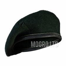 Genuine British Army Wool Beret Hat Dark Rifle Green