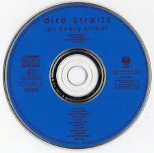 "DIRE STRAITS ""ON EVERY STREET"" RARE SPANISH CD WITH FACTORY CUTTING MISTAKE"