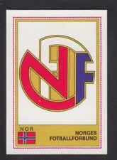 Panini - Euro Football 76/77 - # 207 Norges Badge