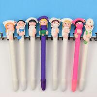 Cute Cartoon Doctor Nurse Ballpoint Pen 0.5mm Tip Black Refill BallPoint Pens