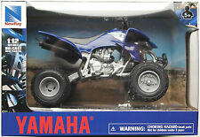 Newray-yamaha quad yfz 450 (2008) 1:12 azul nuevo/en el embalaje original