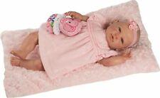 Berbesa - Muñeca bebé Reborn realista, vestido rosa 50 cm (5300)