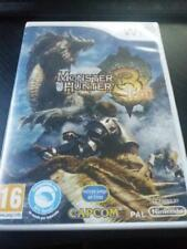 juego nintendo wii monster hunter 3 tri