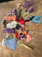 Huge Lot Of Barbie Doll Clothes, Dresses Shoes Mixed lot