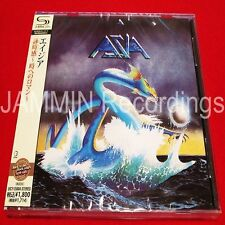 ASIA - SELF TITLED S/T - JAPAN SHM CD - UICY-25004 - BRAND NEW AS PICTURED