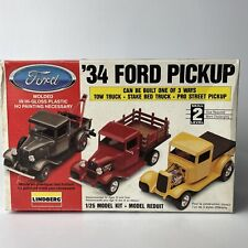 Lindberg '34 Ford Pickup Model 1/25 *Used Open Box* + Extras