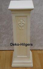 Säule Säulen Stuckgips Dekosäule Blumensäule Podest Tisch Französische Lilie 164