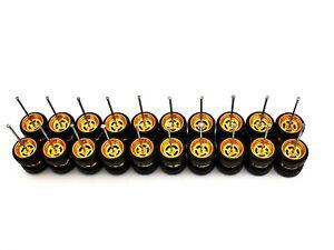 10 set 4 spoke GOLD Premium rubber wheels for HW 1:64 scale cars