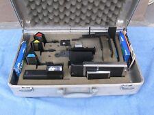 Polaroid CU-70 Camera & Macro Kit SX-70 680/690 & Haliburton Case--RARE/COMPLETE