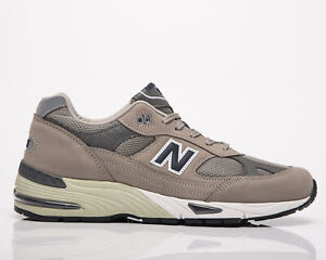 New Balance 991 Made In UK Anniversary Men's Grey Navy Lifestyle Sneakers Shoes