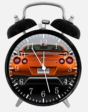 """Nissan GTR Alarm Desk Clock 3.75"""" Home or Office Decor E193 Nice For Gift"""