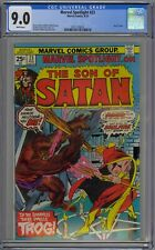 Marvel Spotlight #23 CGC 9.0 VF/NM Wp Marvel 1975 Son of Satan + Gil Kane Cover