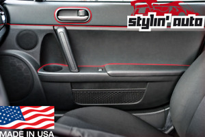 Gap Trim (Red) Universal Interior Line Strip Molding Panel for Chevy