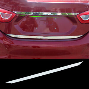 Fit For Chevrolet Cruze Sedan 2017-2018 Car Stainless Rear Trunk Lid Cover Trim
