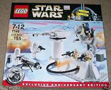 LEGO 7749 Echo Base Exclusive Anniversary Edition 5 figurines NEW
