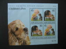 NEW ZEALAND USED MINIATURE SHEET-1993 HEALTH SG MS 1743