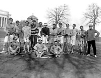"1908 Columbia University Lacrosse Team Vintage Old Photo 8.5"" x  11"" Reprint"