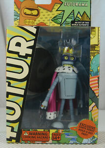Toynami Futurama Super King Bender Action Figure Series 5 NEW SEALED