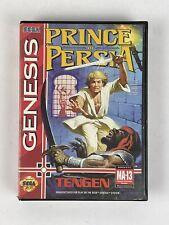 Prince of Persia (Sega Genesis, 1993) Tengen Case and Cartridge
