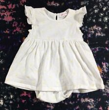 Hunter Baby Girls Dress With Attached Bodysuit Size 000