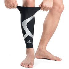 Kuangmi Calf Compression Sleeve Brace Shin Splint Support Leg Running Relief 1X