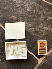 Miss Barbie Doll Go Together Set Domino's and Transistor Radio HTF  ~ Vint1960's