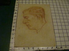 SIGNED - LOUIS FERON drawing of man, SIGNED