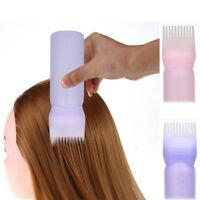 New Hair Dye Bottle Applicator Brush Dispensing Salon Hair Coloring Dyeing WP